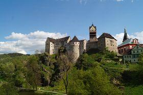 Burg Loket (Foto: Archiv des Tschechischen Rundfunks - Radio Prag)