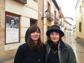 Ana Belén García y Dana Kyndrová (a la derecha), foto: Centro Checo de Madrid