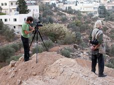 'Koudelka Shooting Holy Land', photo: Gilad Baram / One World festival
