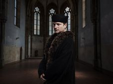 Jan Hus, photo; Jan Renelt / ČT