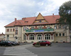 Bahnhof in Uherské Hradiště (Foto: ŠJů, CC BY 3.0)