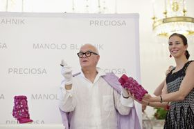 Manolo Blahnik, photo: CTK