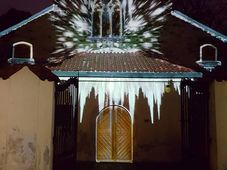 Videomapping Vánoční odysea, foto: Zdeňka Kuchyňová