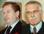 Václav Havel, Václav Klaus