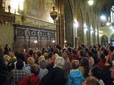 La Nuit des Eglises, photo: Adriana Krobová, ČRo