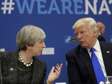 British prime minister Theresa May, Donald Trump, photo: CTK