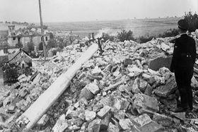 Auslöschung des Dorfes Lidice (Foto: ČT24)