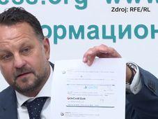 Michael Smelík de Liglass Trading, photo: ČT