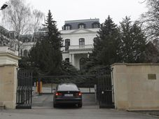 Russian embassy in Prague, photo: CTK