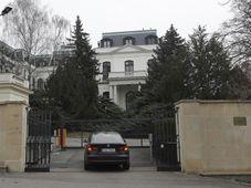 Посольство России в Праге, фото: ЧТК