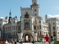 Château de Hlubiká, photo: Barbora Němcová