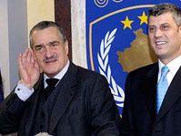 Karel Schwarzenberg et Hashim Thaci, photo: CTK