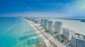 Фотография города Канкун, сделанная с помощью дрона, фото: Dronepicr CC BY 3.0