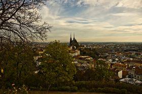 Brno - view from Špilberk Park, photo: Vít Pohanka