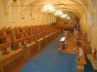 L'intérieur du palais Wallenstein
