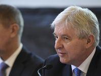 Andrej Babiš, Jiří Rusnok, photo: CTK