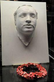 Totenmaske von Jan Palach (Foto: Khalil Baalbaki, Archiv des Tschechischen Rundfunks)