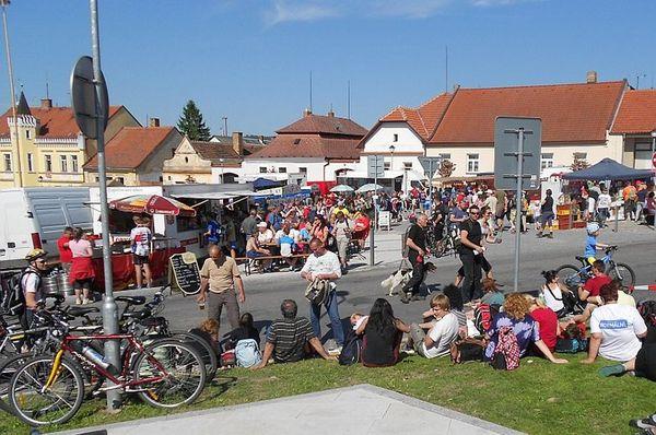 Pochod Praha-Prčice, foto: Magdalena Kašubová