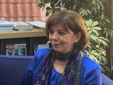 Luisa Fernanda Garrido, foto: Cortesía Instituto Cervantes de Praga