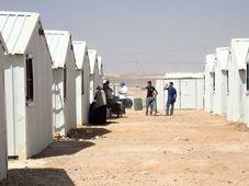 Uprchlický tábor Azrak v Jordánsku, foto: Štěpán Macháček
