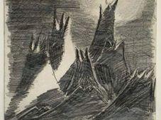 Petr Ginz - 'Moon Landscape'