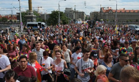 Prague Pride, photo: Petr Vilgus. CC BY-SA 4.0