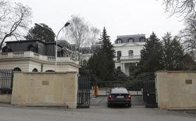 Russian embassy in Prague, photo: CTK