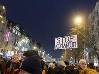 La manifestation à Prague, photo: Martina Schneibergová