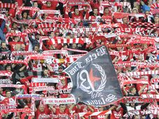 Les supporteurs de Slavia Prague, photo: ČTK