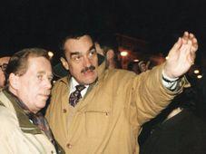 Václav Havel s Karlem Schwarzenbergem, foto: www.karelschwarzenberg.cz