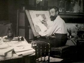 František Kupka, photo de l'exposition: Kateřina Srbková