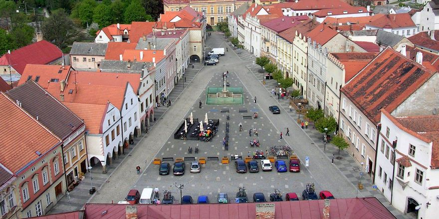 Slavonice, photo: ŠJů, CC BY-SA 3.0