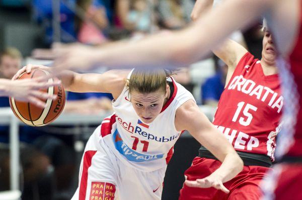 Одна из лучших чешских баскетболисток - Катержина Элготова, Фото: ЧТК