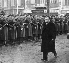 Февраль 1948 г. – «народная милиция», фото: ЧТ