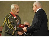 Mikuláš Končický, Václav Klaus, photo: CTK