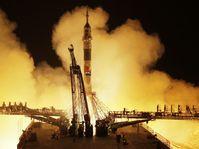 Le vaisseau spatial russe Soyouz MS-08 a décollé du cosmodrome de Baïkonour, photo: ČTK