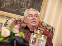 Miloš Zeman, photo: Khalil Baalbaki