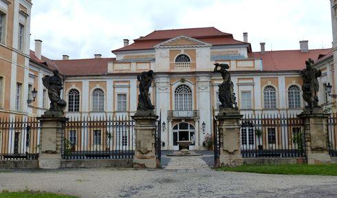 Château de Duchcov, photo: Klára Stejskalová