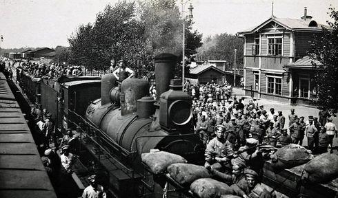 Чехословацкие легионеры, Фото: ЧТ