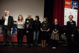 L'équipe du FFF, photo: Eva Kořínková / Festival du film français