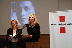 Pavla Plachá und Věra Zemanová (Foto: Petr Buček, Archiv des Österreichischen Kulturforums)