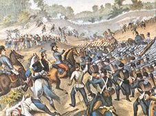 La bataille de Sadowa