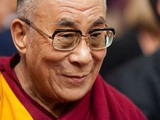 Далай-лама во время своего визита в Прагу, Фото: Томаш Адамец, Чешское радио