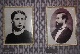 Charlotte Garrigue und Tomáš Masaryk (Foto: Anton Kaimakow)