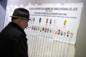 Les élections législatives en Italie, photo: ČTK