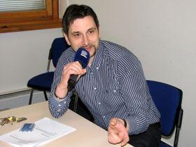Ondřej Nováček, photo: Marcela Benešová, ČRo