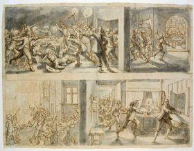 Ermordung Wallensteins (Foto: Public Domain)