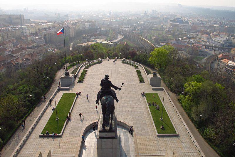Национальный памятник на Виткове, фото: Кристина Макова