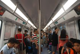China Railway Rolling Stock Corporation baute z. B. die Shenzhen Metro (Foto: SoHome Jacaranda Lilau, CC BY-SA 4.0)