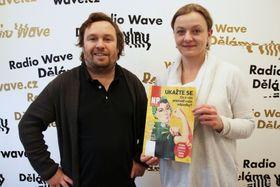 Jan Štěpánek et Dagmar Kocmánková, photo: Barbora Linková, Radio Wave